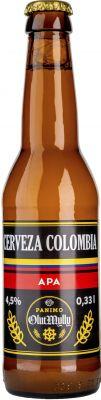 [kuva: OlutMylly Cerveza Colombia APA(© Alko)]