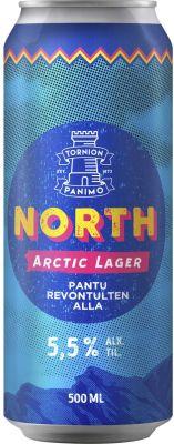 [kuva: Tornion North Arctic Lager tölkki(© Alko)]