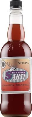 [kuva: Finlandia Sahti Strong muovipullo(© Alko)]