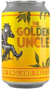 [kuva: Tired Uncle The Golden Uncle New England IPA tölkki(© Alko)]