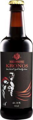 [kuva: Mallaskoski Kronos Rum Barrel Aged Barley Wine(© Alko)]