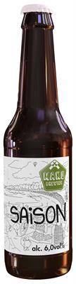 [kuva: Maku Brewing Saison  pullo 24 x 0,33 l(© Alko)]