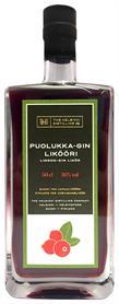[kuva: The Helsinki Distilling Puolukka-Gin(© Alko)]