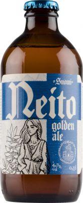 [kuva: Mustan Virran Neito Golden Ale(© Alko)]