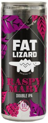 [kuva: Fat Lizard Raspy Mary Double IPA tölkki(© Alko)]