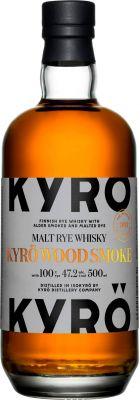 [kuva: Kyrö Wood Smoke Malt Rye Whisky(© Alko)]