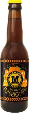 [kuva: Mallaskuun Pumpkin Ale(© Alko)]