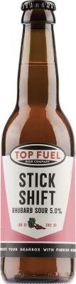 [kuva: Top Fuel Stick Shift Rhubarb Strawberry Sour(© Alko)]