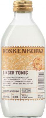 [kuva: Koskenkorva Ginger Tonic(© Alko)]