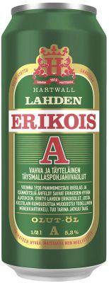 [kuva: Lahden Erikois A tölkki(© Alko)]
