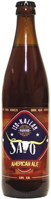 [kuva: Iso-Kallan Savo American Ale(© Alko)]