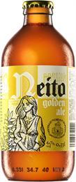 [kuva: Mustan Virran Panimo Neito Golden Ale(© Alko)]