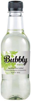 [kuva: Bubbly White muovipullo(© Alko)]