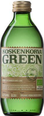 [kuva: Koskenkorva Green(© Alko)]