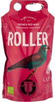 [kuva: Cazes Roller Grenache Syrah Merlot Organic 2018 viinipussi]