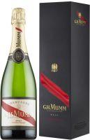 [kuva: Mumm Cordon Rouge Champagne Brut lahjapakkaus]
