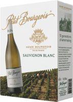 [kuva: Henri Bourgeois Petit Bourgeois Sauvignon Blanc 2019 hanapakkaus]