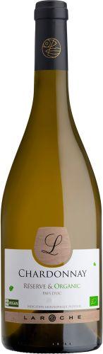 [kuva: Laroche Réserve & Organic Chardonnay L 2018(© Alko)]