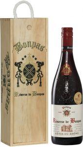 Bonpas Côtes du Rhône 2016 lahjapakkaus