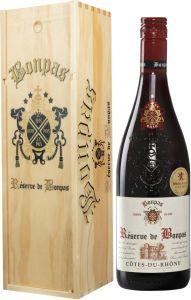 Bonpas Côtes du Rhône 2018 lahjapakkaus