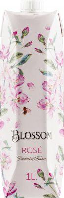 [kuva: Blossom Rosé 2020 kartonkitölkki(© Alko)]