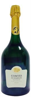 [kuva: Taittinger Comtes de Champagne Blanc de Blancs Champagne Brut 2006(© Alko)]