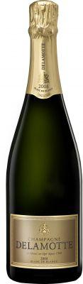 [kuva: Delamotte Blanc de Blancs Millésimé Champagne Brut 2008(© Alko)]