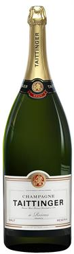 [kuva: Taittinger Réserve Champagne Brut, Metuselah(© Alko)]