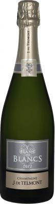[kuva: J. de Telmont Blanc de Blancs  Champagne Brut 2012(© Alko)]
