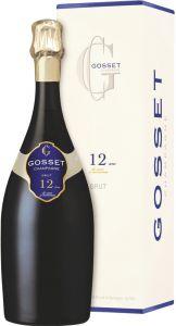 [kuva: Gosset 12 Ans de Cave à Minima Champagne Brut(© Alko)]