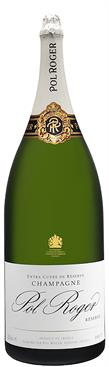 [kuva: Pol Roger Réserve Champagne Brut Salmanazar(© Alko)]