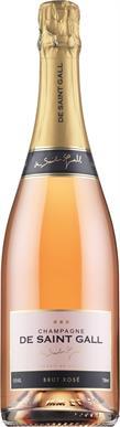 [kuva: De Saint Gall Rosé Champagne Brut]