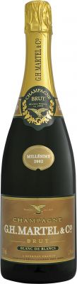 [kuva: G.H. Martel Blanc de Blancs Champagne Brut 2002(© Alko)]