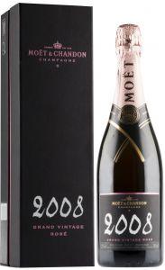 [kuva: Moët & Chandon Grand Vintage Rosé Champagne Brut 2008(© Alko)]