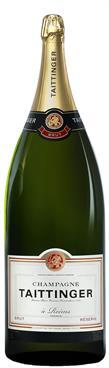 [kuva: Taittinger Réserve Champagne Brut, Nebuchadnezzar(© Alko)]