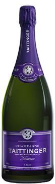 [kuva: Taittinger Nocturne Champagne Sec(© Alko)]