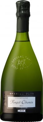 [kuva: Forget-Chemin Special Club Champagne Brut 2014(© Alko)]