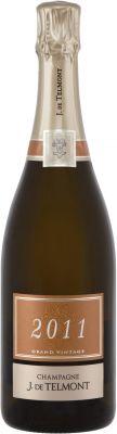 [kuva: J. de Telmont Grand Vintage Champagne Brut 2011(© Alko)]