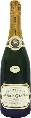 [kuva: Alfred Gratien Blanc de Blancs Champagne Brut 2007(© Alko)]