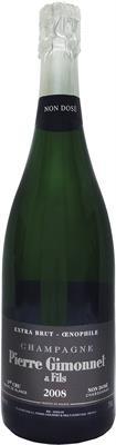 [kuva: Pierre Gimonnet Oenophile 1er cru Blanc de Blancs Champagne Extra Brut 2008(© Alko)]