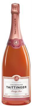 [kuva: Taittinger Prestige Rosé Champagne Brut(© Alko)]