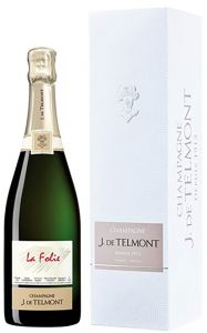 [kuva: J. de Telmont La Folie Champagne Brut 2012(© Alko)]