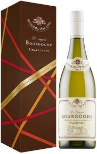 [kuva: Bouchard La Vignée Chardonnay 2015 lahjapakkaus(© Alko)]