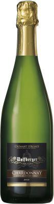 [kuva: Wolfberger Crémant d'Alsace Chardonnay Élevé en Fût de Chêne Brut 2016(© Alko)]