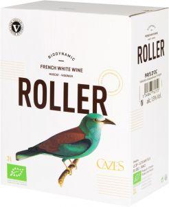 [kuva: Cazes Roller Muscat-Viognier hanapakkaus(© Alko)]