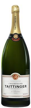 [kuva: Taittinger Réserve Champagne Brut, Salmanazar(© Alko)]