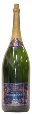 [kuva: André Clouet Grande Réserve Blanc de Noirs Champagne Brut(© Alko)]