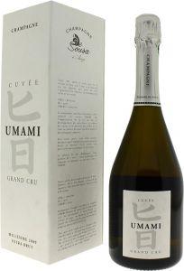 [kuva: De Sousa Cuvée Umami Grand Cru Millésime Champagne Extra Brut 2009(© Alko)]