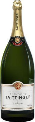 [kuva: Taittinger Réserve Champagne Brut, Balthazar(© Alko)]