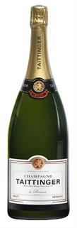 [kuva: Taittinger Réserve Magnum Champagne Brut(© Alko)]